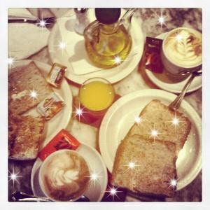 Desayuno con chispa..