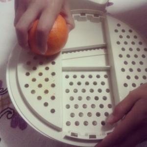 rollitos de naranja