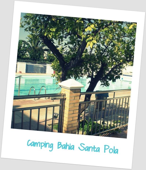 Camping bahia santa pola portada