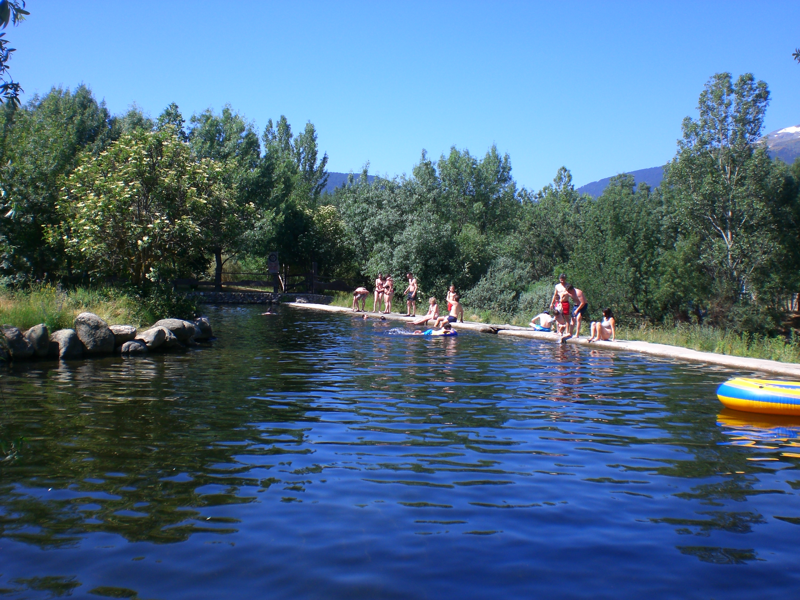 piscinas naturales en rascafr a madrid natural pools in