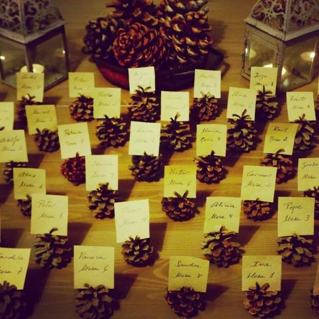 foto seating plan piñas