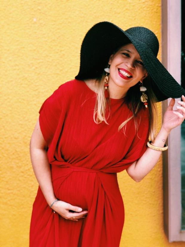 Look invitada boda embarazada (1)